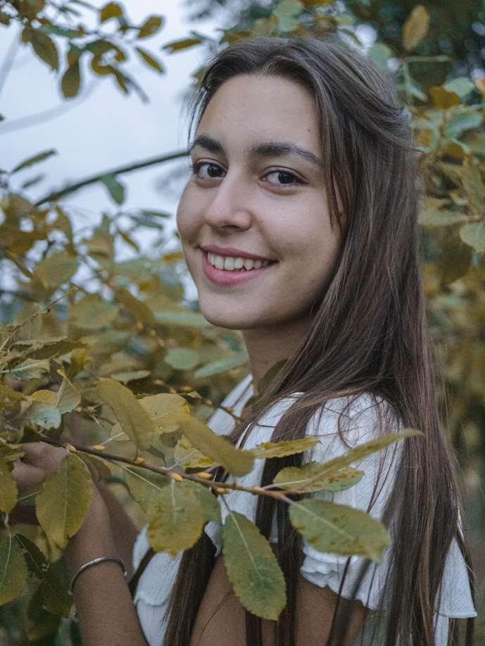 Bild unseres Mitgliedes Giulia.